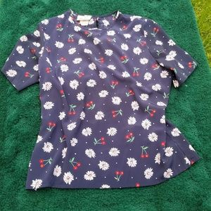Tops - KITHIE BLOUSE PRINT FLORAL SIZE 14